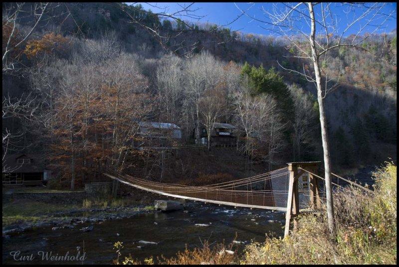 Owassee footbridge.