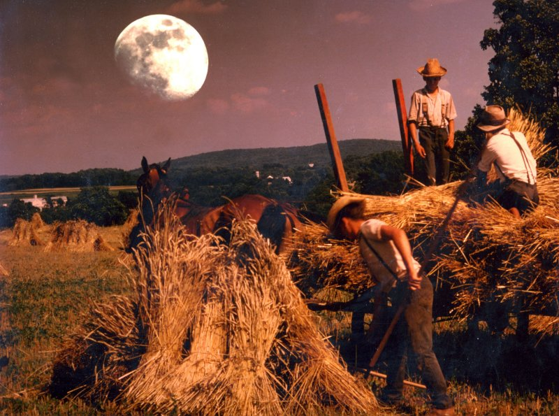 Mennonite moon