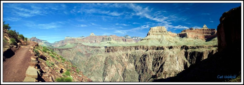 Canyon panorama from South Kaibab Trail