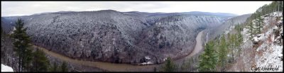 Canyon Panorama from Leonard Harrison St Pk.