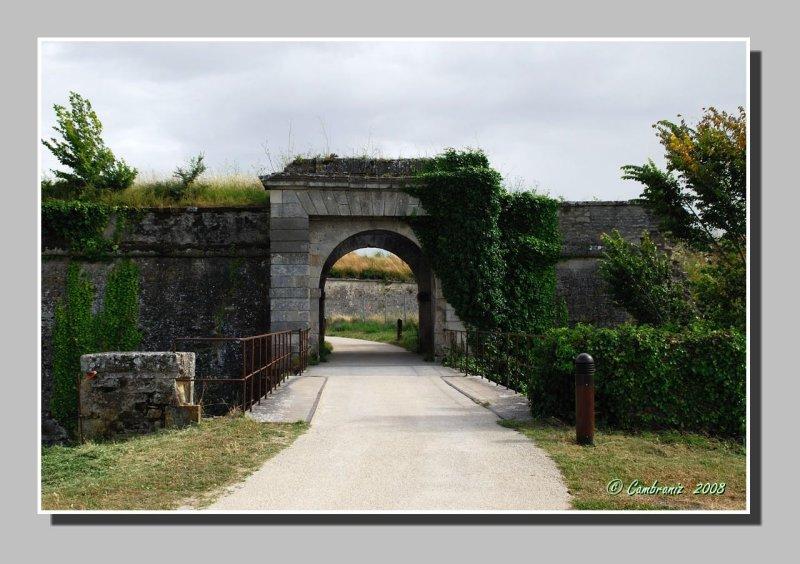 Château dOléron - La Citadelle - Entrée