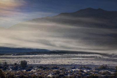Hoar Fog Lifting