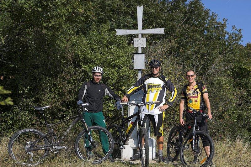 bike tour Hundsheimer Berg