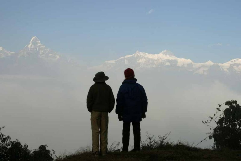 Trekking west of Pokhara