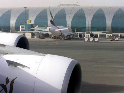 A380 Airbus Emirates New Terminal 3 Dubai