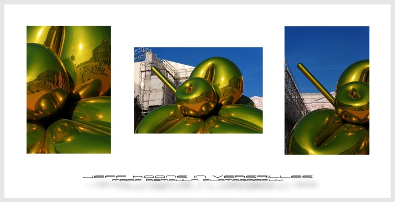 Jeff Koons in Versailles
