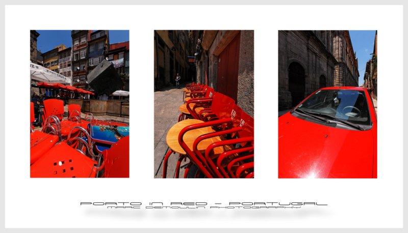 Porto in red