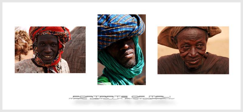 Portraits of Mali
