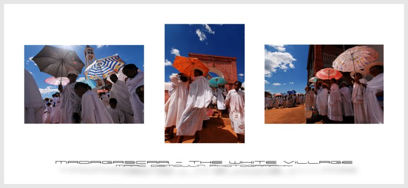 Madagascar - The white village