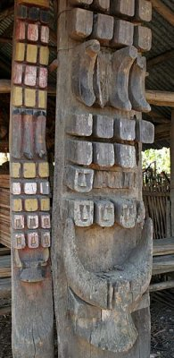 Town gate in Tseminyu.