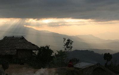 Evening in In Sheanghah Chingnyu.