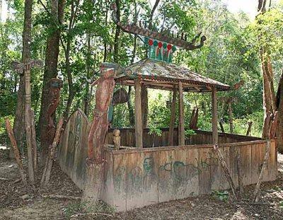 Kachork graveyard, Koh Peak, Cambodia.