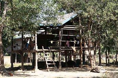 House in Koh Peak, Cambodia.