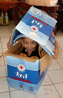 Child in Kratie, Cambodia.