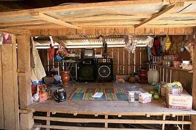 Modern times have also reached small Kreung villages in Cambodia.