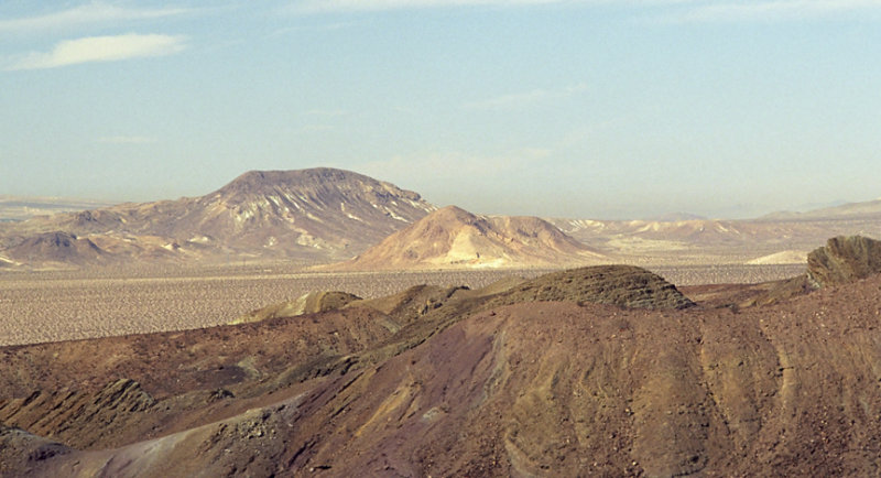 View from Calico, Ca