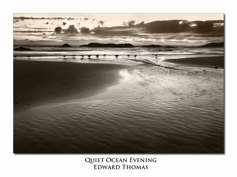 Quiet Ocean Evening