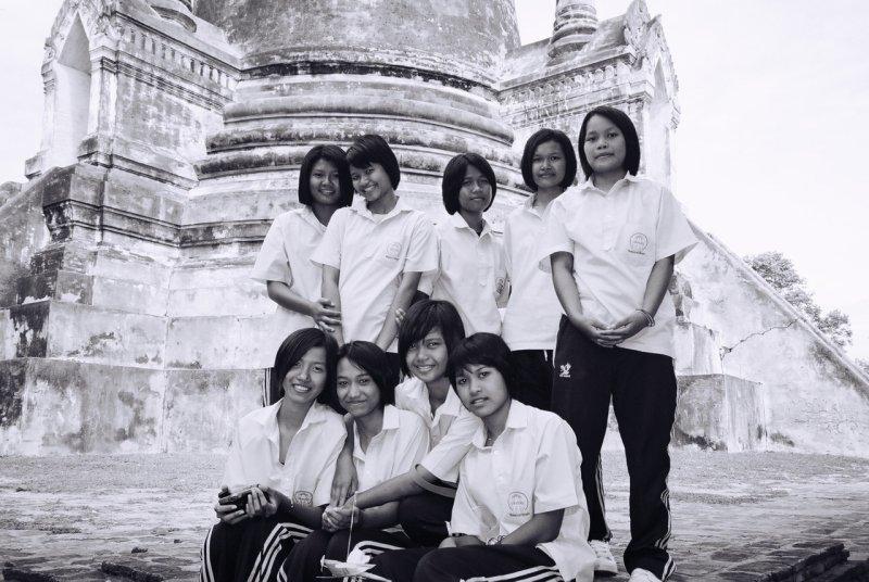 Thai School Girls