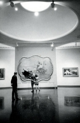 Lovers in a Frame Huntington Hartford Museum, Pasadena, CA 1983