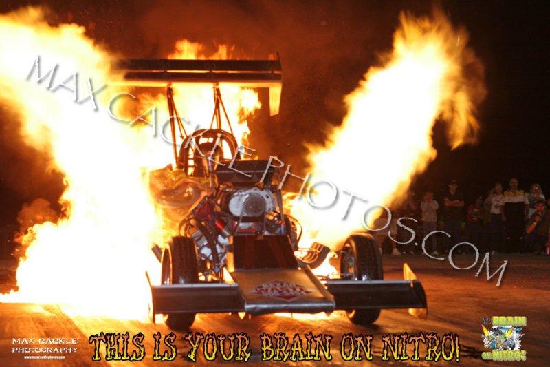 Mitch King Fire Burnout