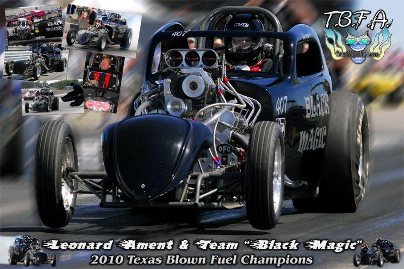 Leonard Ament Texas Blown Fuel 2010 Champ