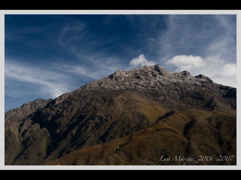 Paisajes Andinos, Retornando a Ciudad de Merida desde Los Nevados, Edo Merida (1)