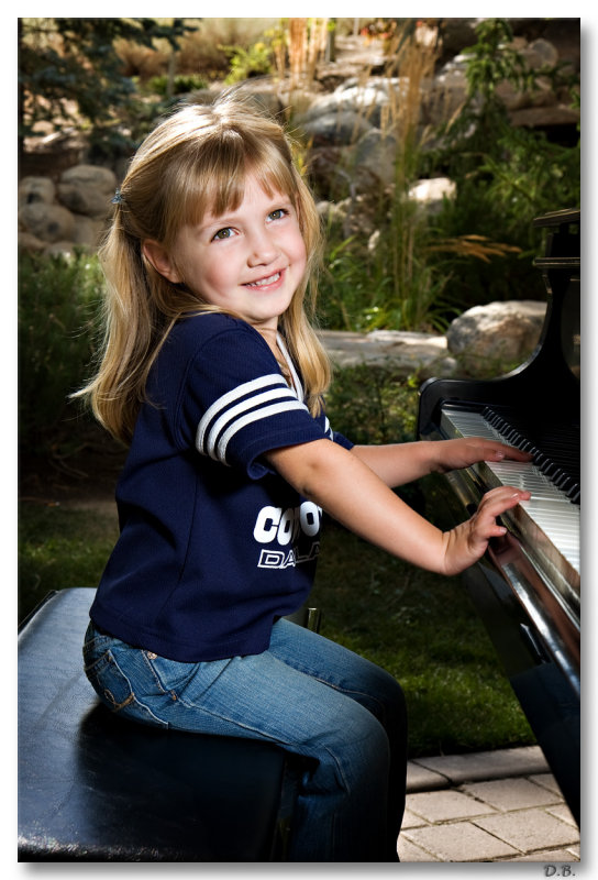 Piano Girl 9-25-9