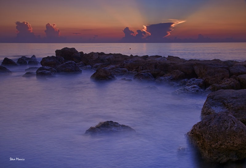 The gentle sea