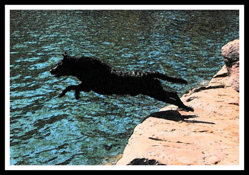 Bear Jumping_fresco