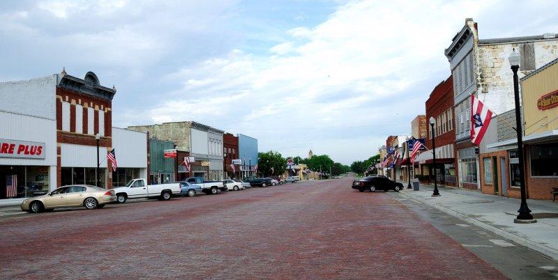 Main Street Osborne KS