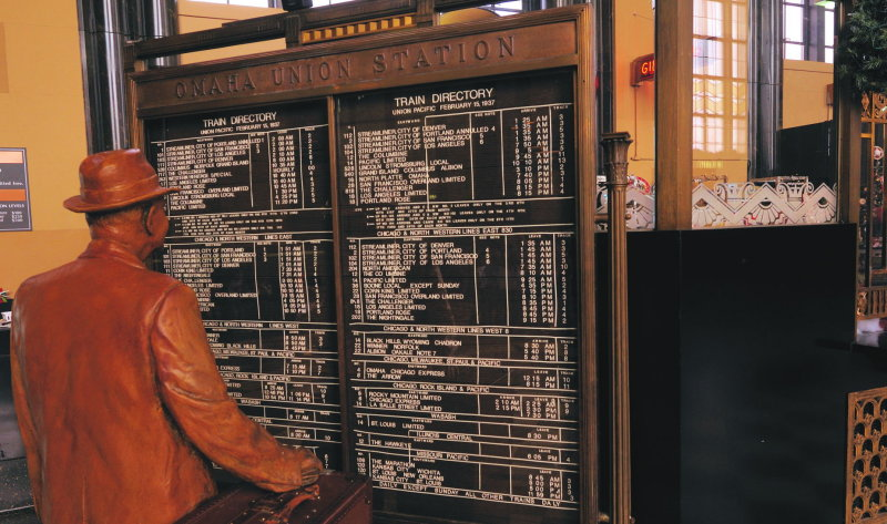 Checking Old Train Schedule