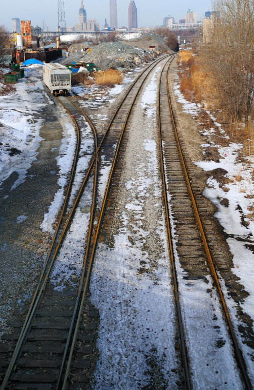 Railroad Tracks the Flats