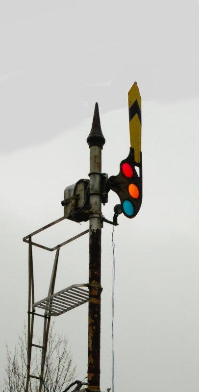 Old Style Semaphore Signal
