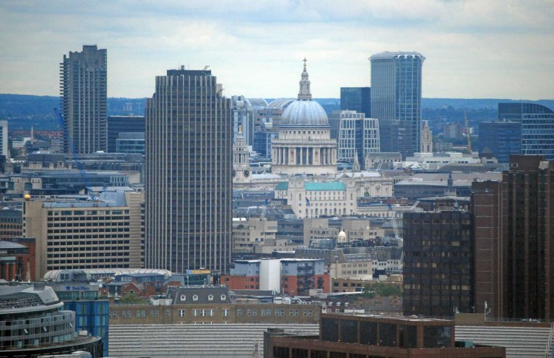 St Pauls and Temples of Mammon