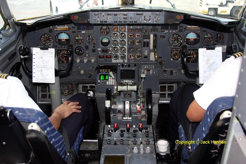 Cockpit shot- with flash. RP-C8006