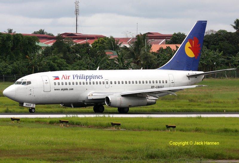 Air Philippines. RP-C8007