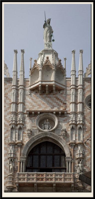 Balcony of the Doges Palace