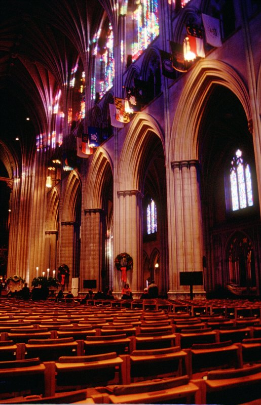 Interior of Washington National Cathedral