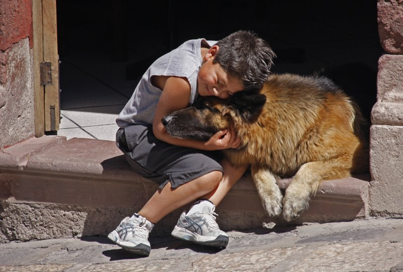 Boy and his Dog San Miguel