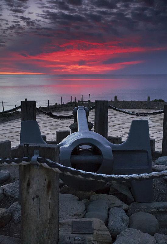 Anchored Sunset