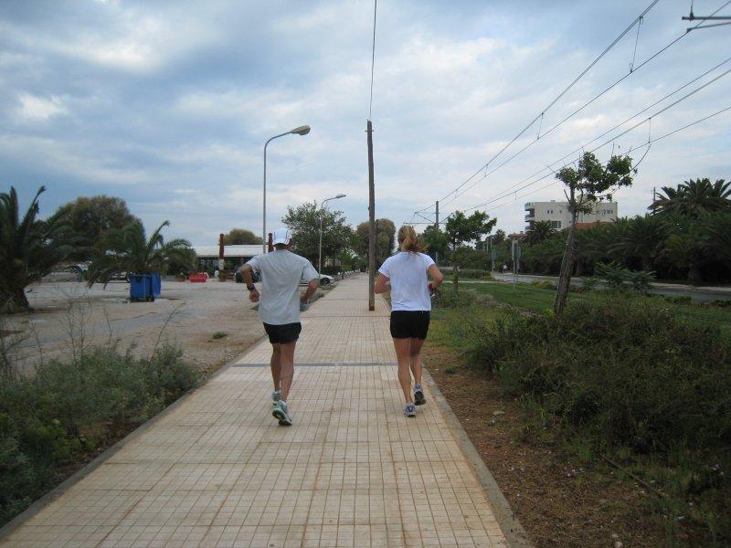 easy training run