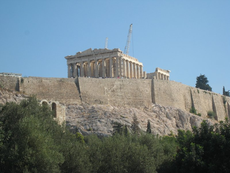 Parthenon, temple of Greek Goddess Athena