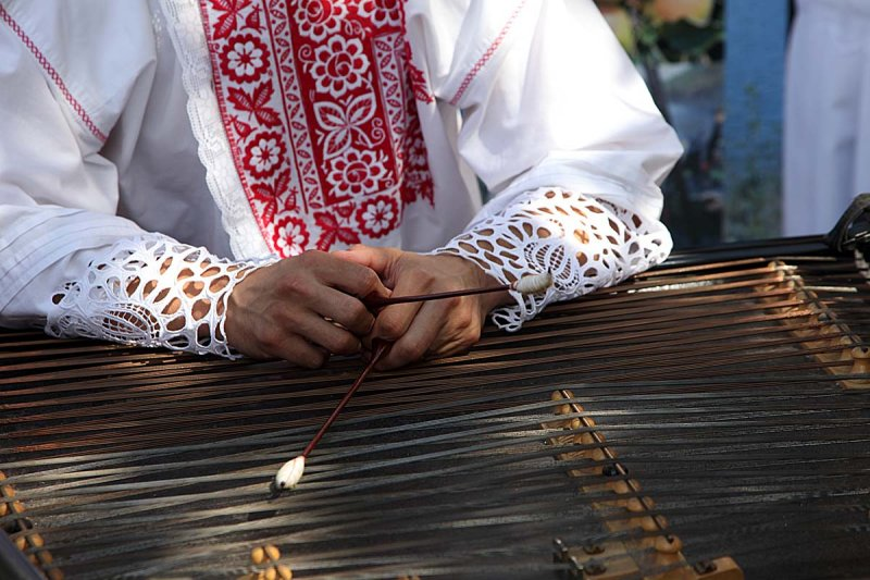 Ahh ... that come zither look