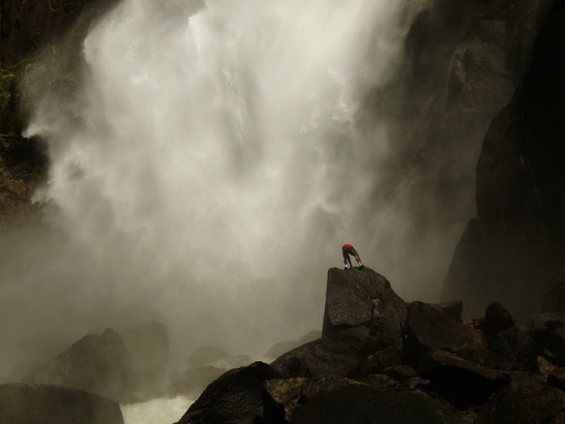 Risk, Yosemite Falls, Yosemite National Park, California, 2008