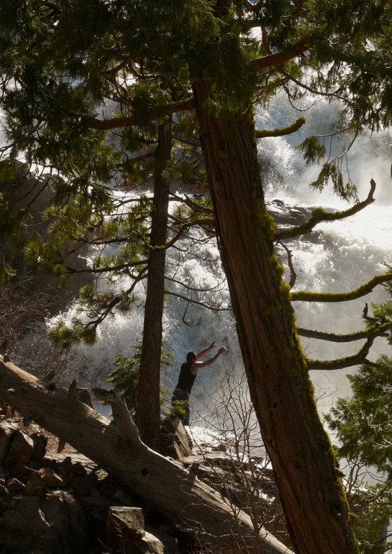Elation, Glen Alpine Falls, near Lake Tahoe, California, 2008