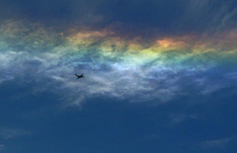 Under the rainbow, Fairfield, California, 2008
