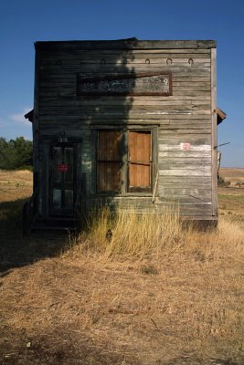 Down on its luck, Antelope, Oregon, 2008