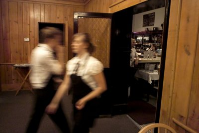 Evening Rush, The Bluebird, Logan, Utah, 2008