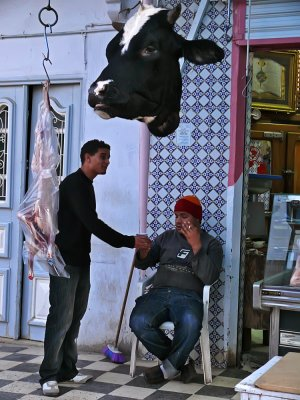 Butchers, Kairouan, Tunisia, 2008