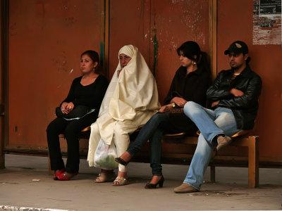 Tram stop, Tunis, Tunisia, 2008